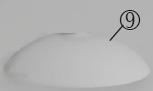 Glas/Fluter/00528 zu Deckenfluter/ESL-00564
