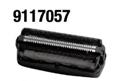 3-fach Schersystem mit Scherfolien & intgr. Langhaarschneider 9117057