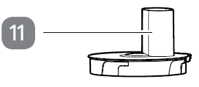 11.Schneideschüssel-Deckel