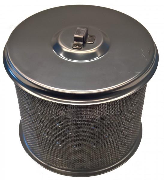 Holzkohlebehälter mit Deckel Nr.2+3