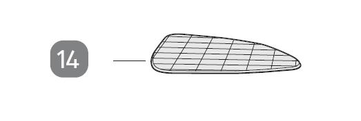 Reinigungstuch/14 für Dampfbesen GT-STM-01/PO51003139
