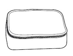 Aufbewahrungstasche zu Maniküre-/ Pediküre-Set GT-MP-04