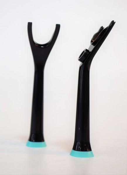 Zahnseidenspanner/schwarz/2 Stk.