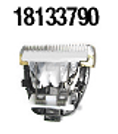 Titan-beschichteter Profi- Klingenblock mit Keramik- Schneidmesser 18133790