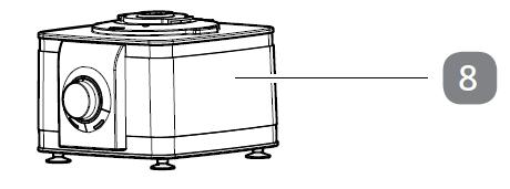 8. Sockel/Motor