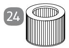 Faltenfilter/Nr.24