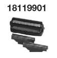 SET 3-fach Schersystem mit Scherfolien & integriertem Langhaarschneider und 2 Schermesser 18119901