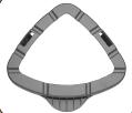 Teppichgleiter/13 für Dampfbesen GT-STM-01/PO51003139