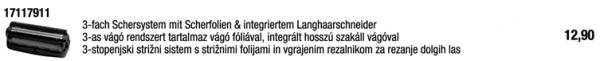 3-fach Schersystem mit Folien / 17117911